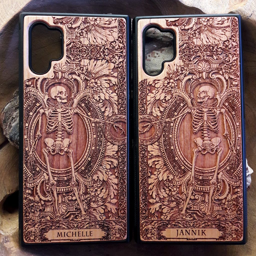 Skeleton Couple Phone Cases