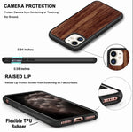 Load image into Gallery viewer, Personalized Phone Case for iPhone 11 Pro Max - Galaxy S20 Ultra Plus Wood Case - XS XR X 8 7 6 6S Plus - S10 S10e Note 9 10 - SE (2020)
