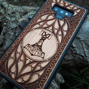 Hammer of Thor iphone case