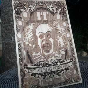 IT Wooden Poster Medium Size
