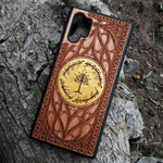Load image into Gallery viewer, LOTR Lord of the Rings Wood Phone Case