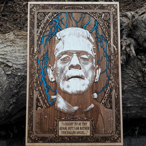 Frankenstein Monster Poster Hand Painted