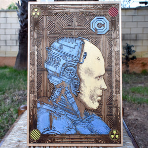 Robocop Hand Painted
