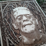 Load image into Gallery viewer, Frankenstein Monster Mini Wooden Poster