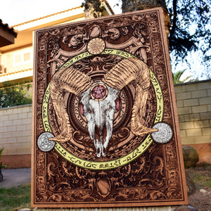 Baphomet, 40th Birthday Gift Ideas, 30th Birthday Gift for Brother, Personalized Gift for Dad from Daughter, Easter Gifts for Him