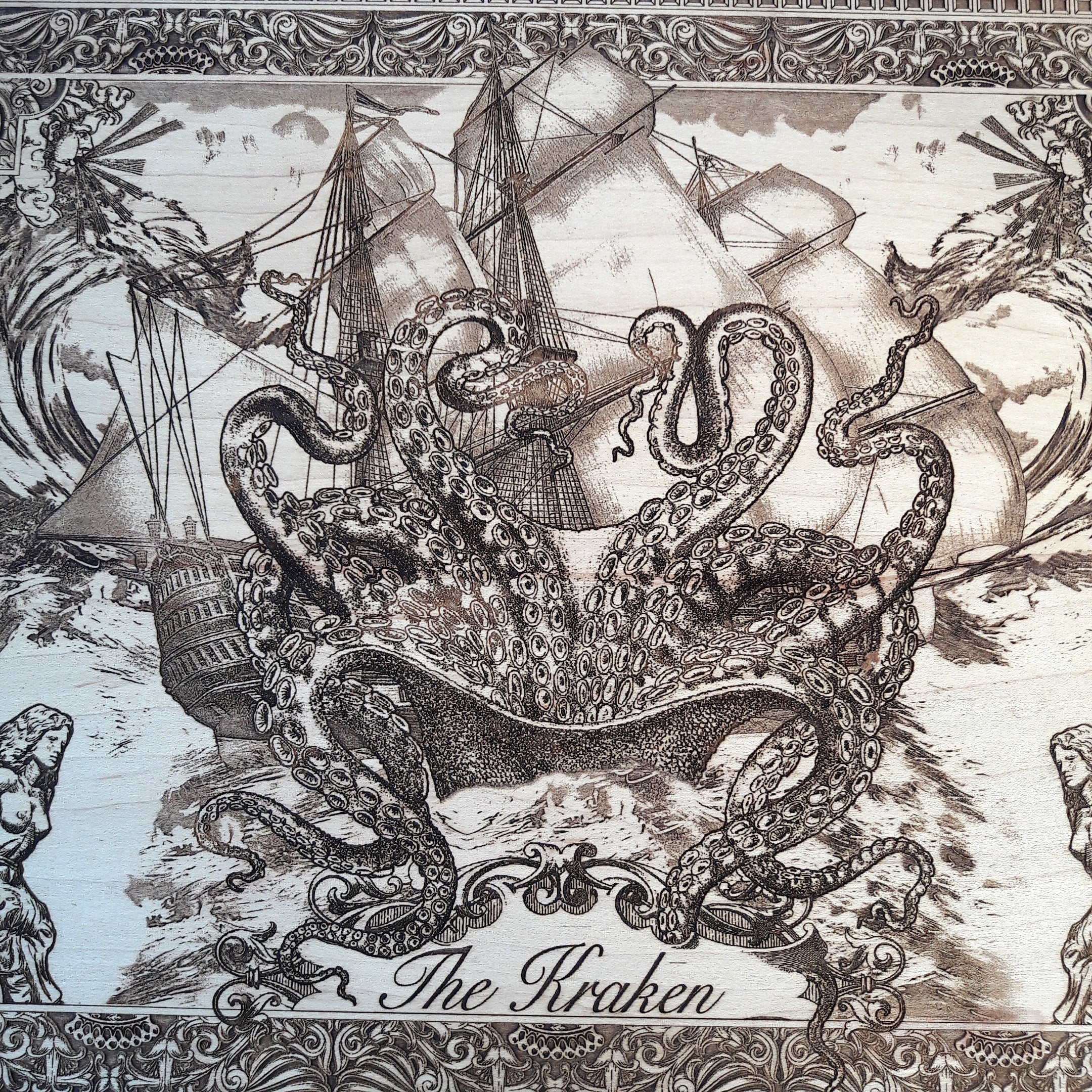 The Kraken Nautical Art