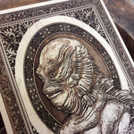Load image into Gallery viewer, Creature from the Black Lagoon Mini Woodcut