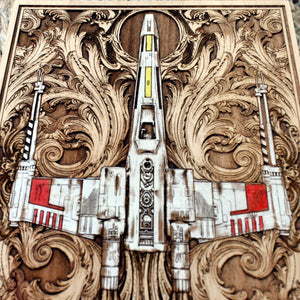Star Wars X Wing Hand Painted