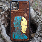 Load image into Gallery viewer, robocop phone case wood