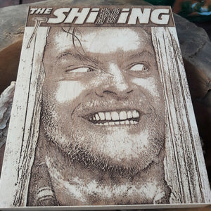 The Shining Woodcut