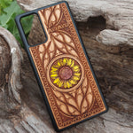 Load image into Gallery viewer, wooden samsung galaxy s20 case sunflower