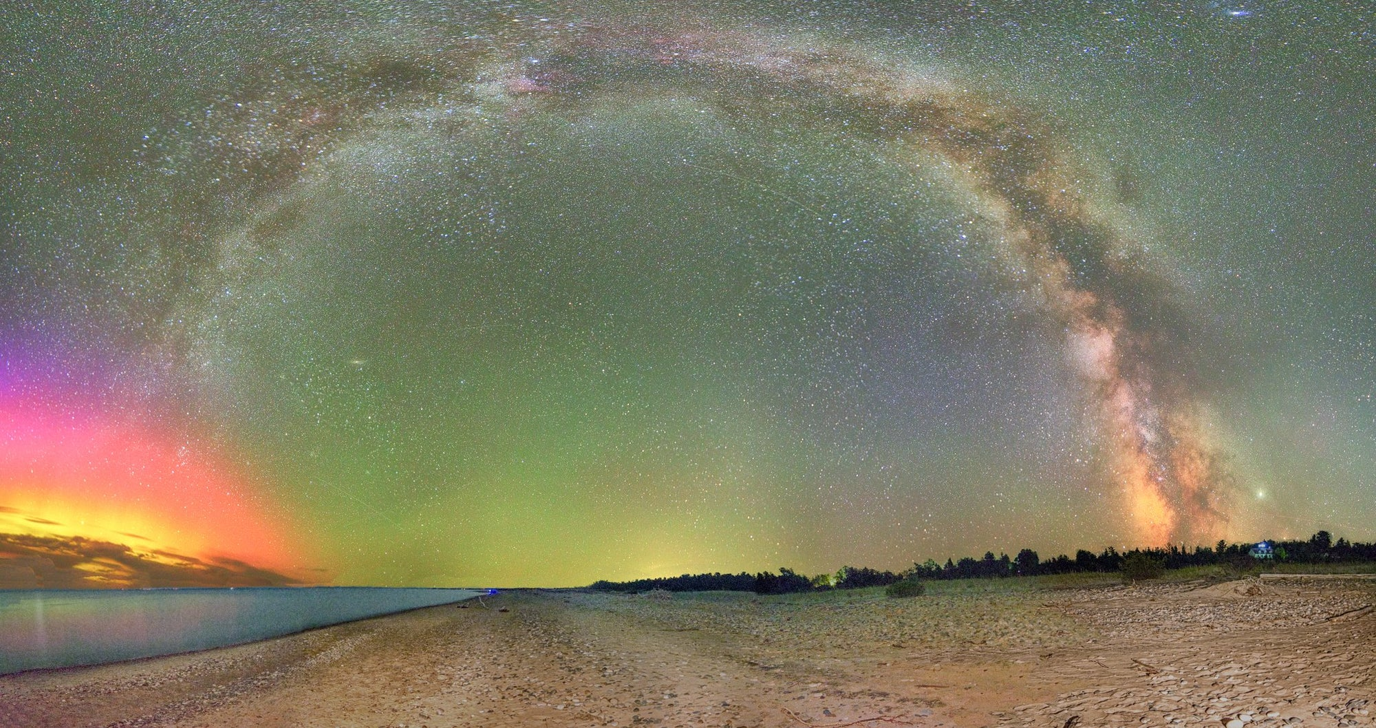 Panoramic collection by Michigan Milkyway