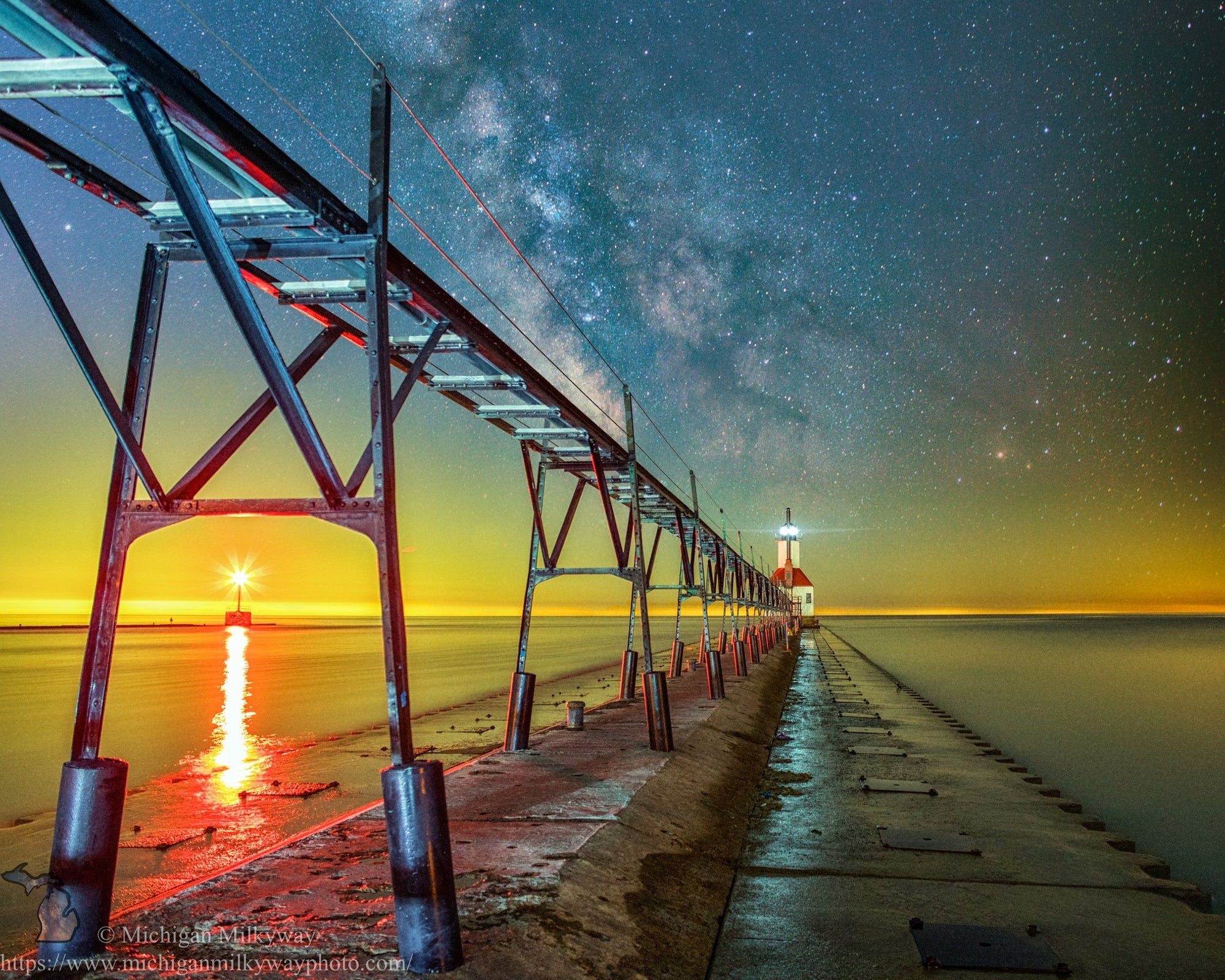 Lighthouses collection by Michigan Milkyway