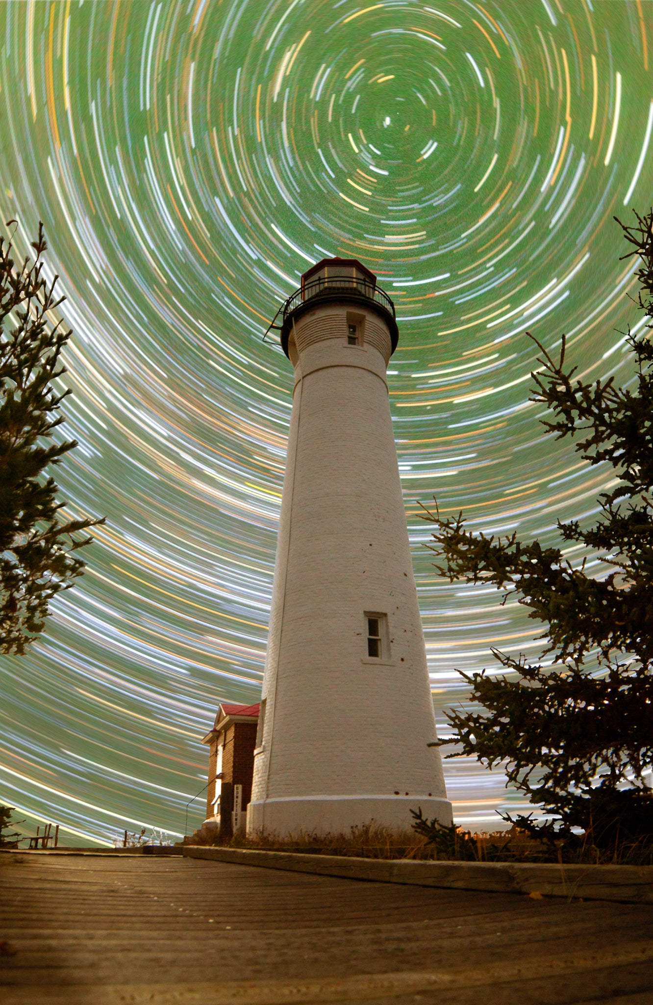 Crisp Star Trails