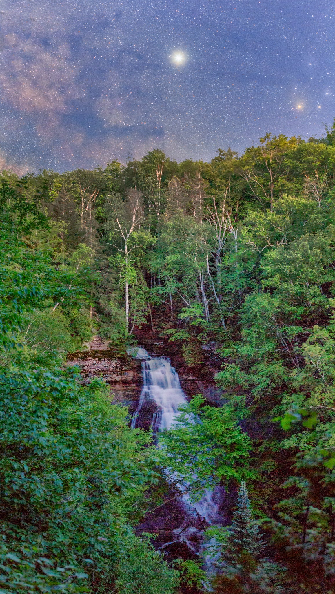 Chapel Falls Blue Hour