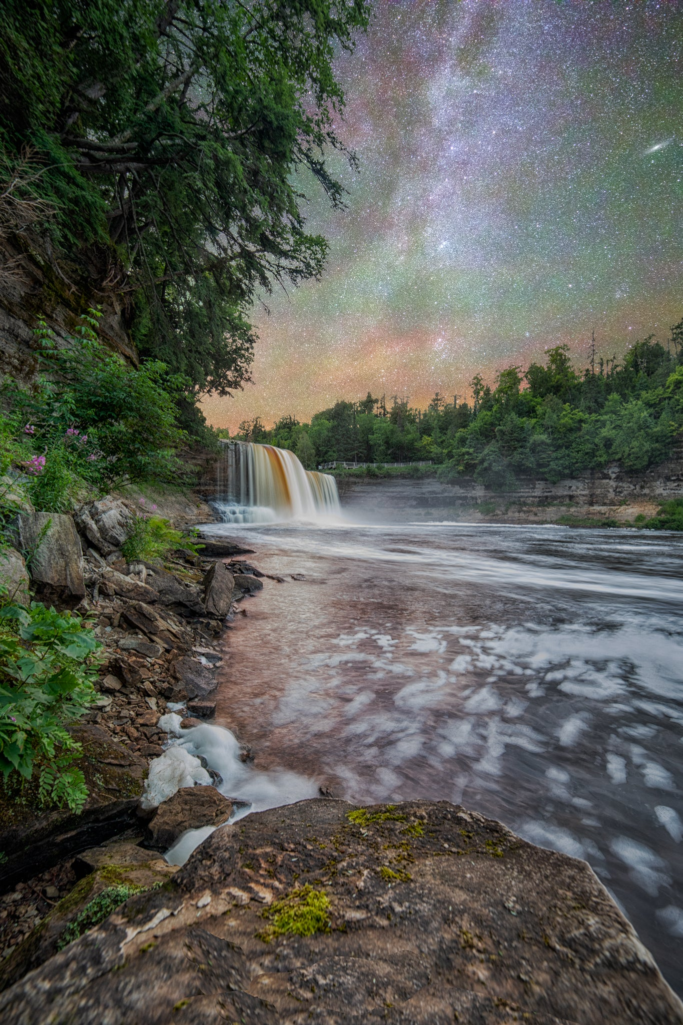 The Other Side of Tahquamenon Upper Falls