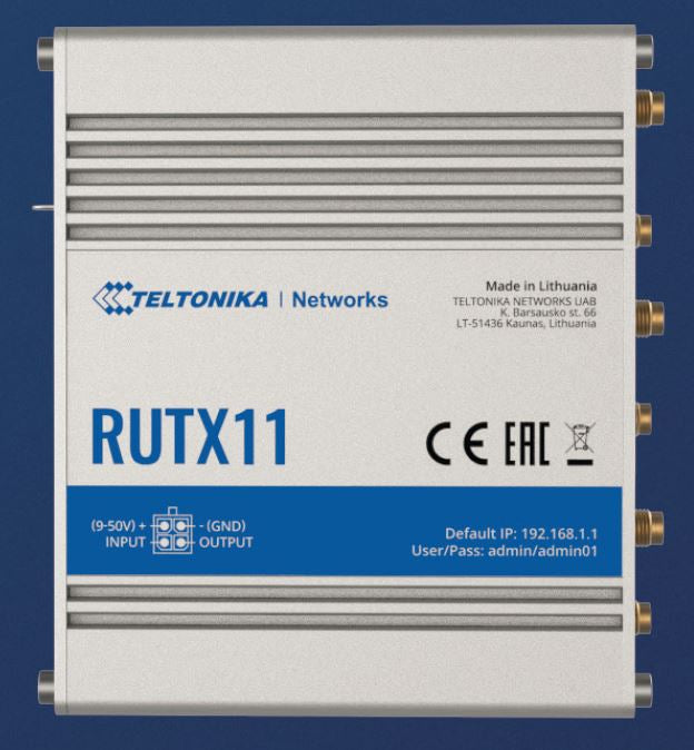 Teltonika RUTX11 Wireless Router NA