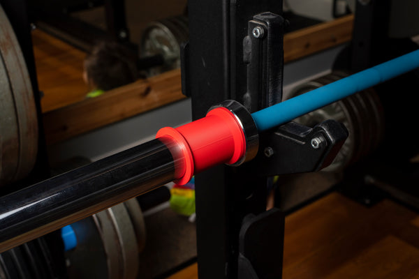 Resistance Band Sleeve for Olympic Barbells