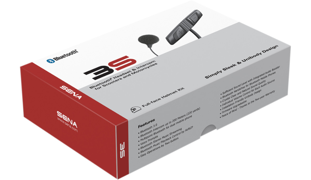 SENA 3S HEADSET WIRE MIC