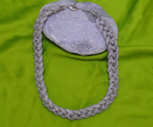 Silver polish chain-9 inches