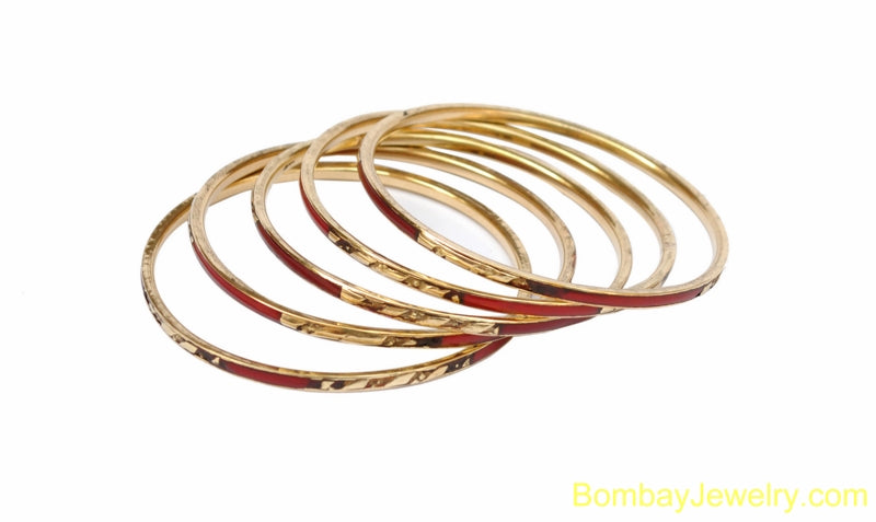 MARON AND GOLDEN FASHION BANGLE