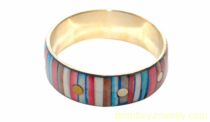 multicolour fashion bangle- one size