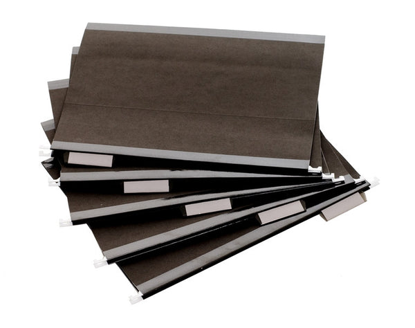 Black Hanging File Folders