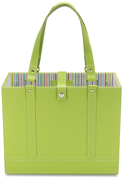 Lime File Tote