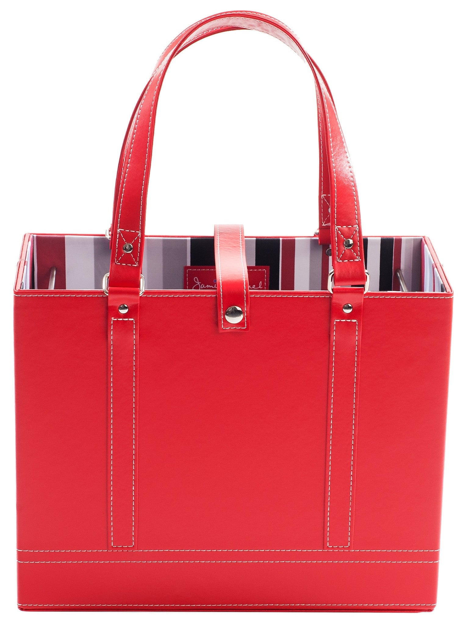Ruby File Tote front view