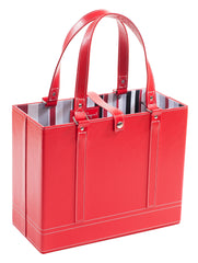 Ruby File Tote angle view