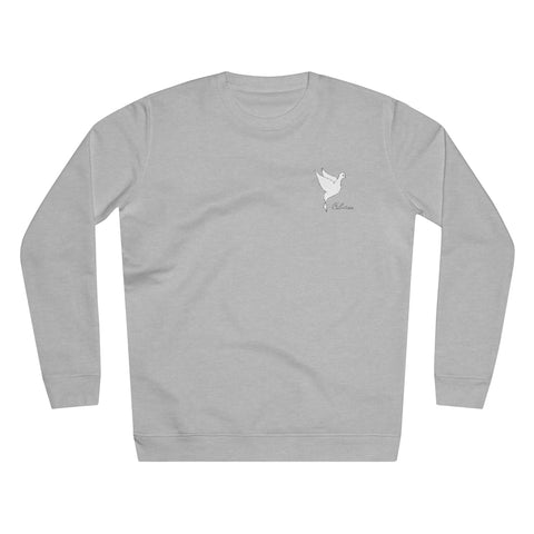 Dove Unisex Rise Sweatshirt - Coleition