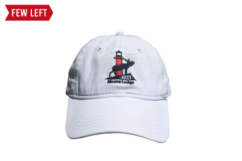 White Moose Lodge Hat - Coleition
