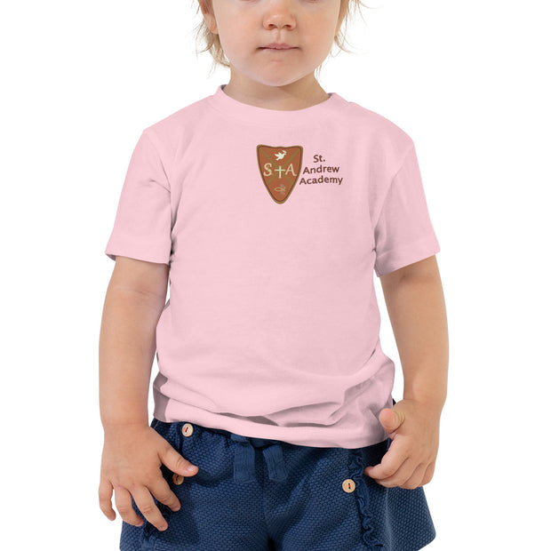 "St. Andrew Academy ""What Lies Within"" Toddler Short Sleeve Tee"