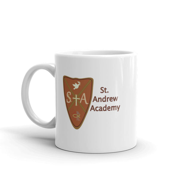 """Embrace the Spirit"" St. Andrew Coffee Mug"