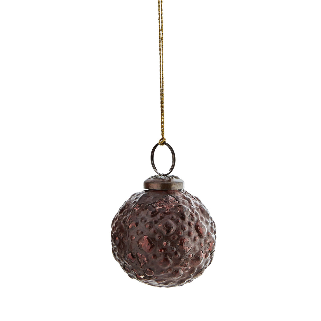 Rustic Brown Hanging Ball