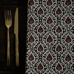 Printed Tablecloth with Fringe
