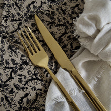 Load image into Gallery viewer, Shiny Gold Cutlery Set