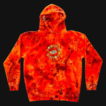 Load image into Gallery viewer, Embroidered Orange Hoodie