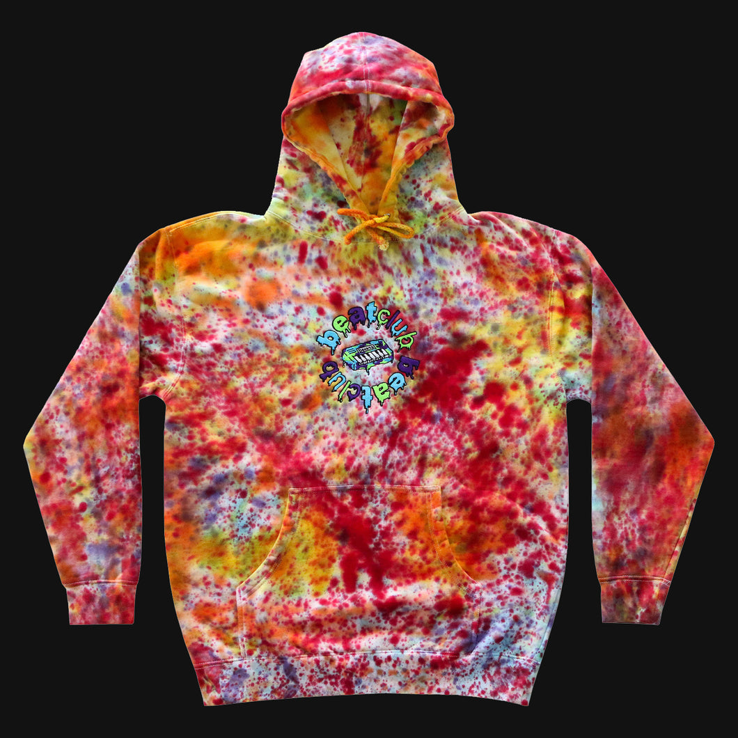 Embroidered Multi-Color Hoodie