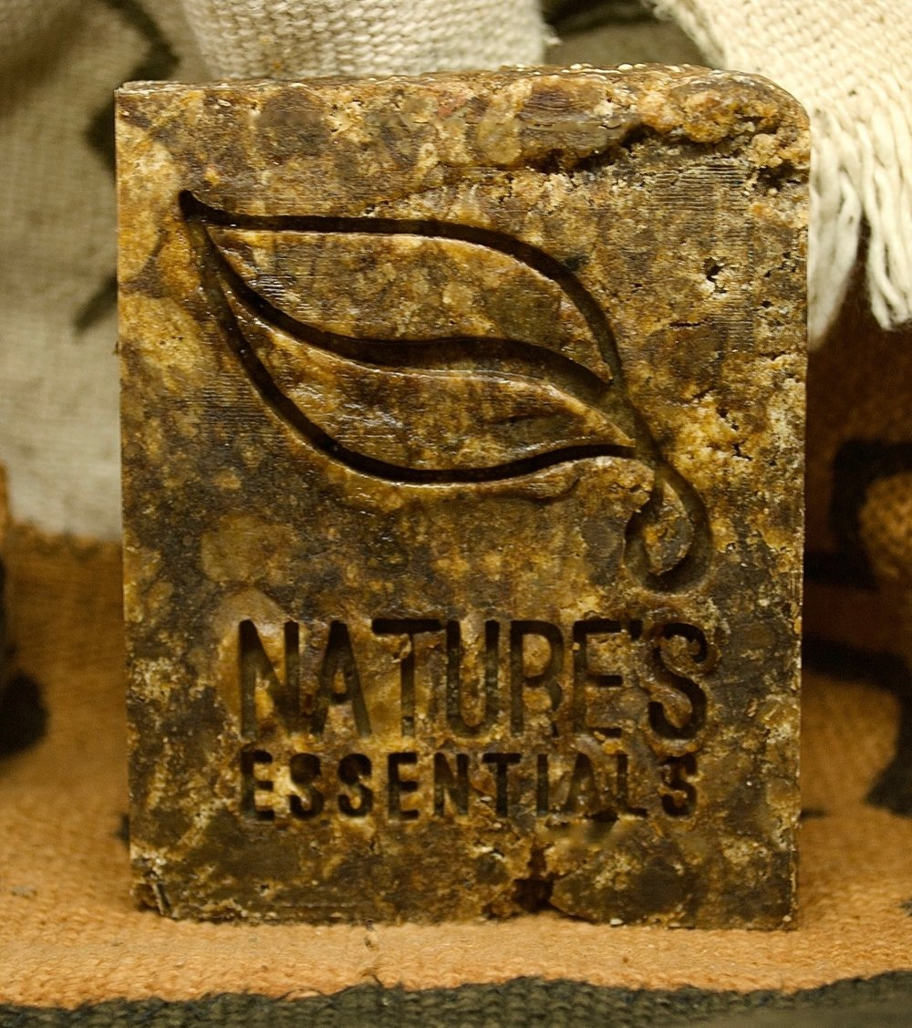 (½ lb) Raw African Black Soap