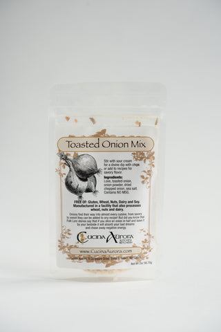 Cucina Aurora Kitchen Witchery Toasted Onion Mix