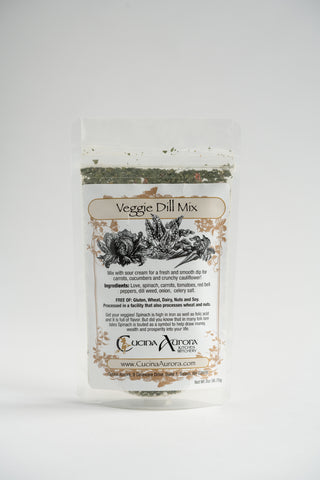Cucina Aurora Kitchen Witchery Veggie Dill Mix