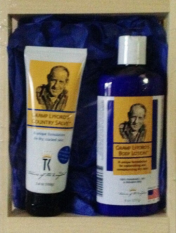 Gramp Lyford's Lotion & Salve Set
