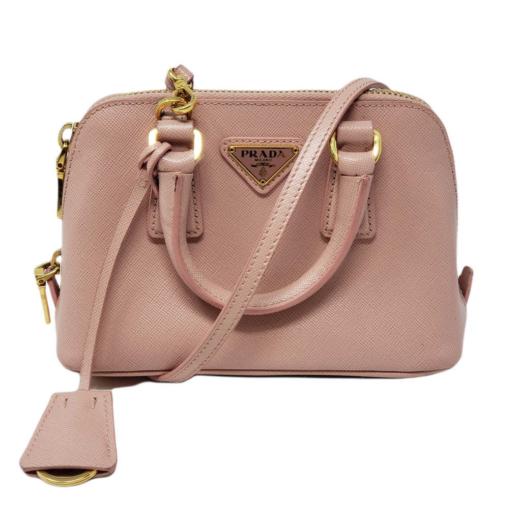 Prada Mini Promenade Saffiano Crossbody Bag