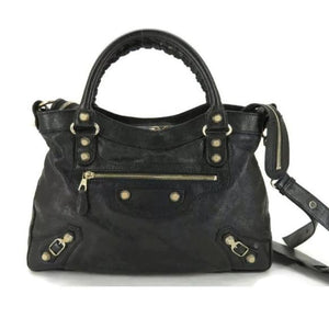 BALENCIAGA THE TOWN LEATHER 2WAY SHOULDER BAG - Luxury Cheaper