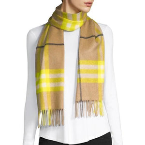Burberry 100% Cashmere Scarf NWT - Luxury Cheaper