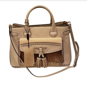 Burberry Broguing Medium Handbag and Crossbody Bag.