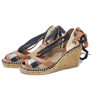 Burberry Wedge Size 36 - Luxury Cheaper