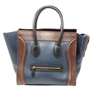 Celine Luggage Micro Leather Hand Bag - Luxury Cheaper