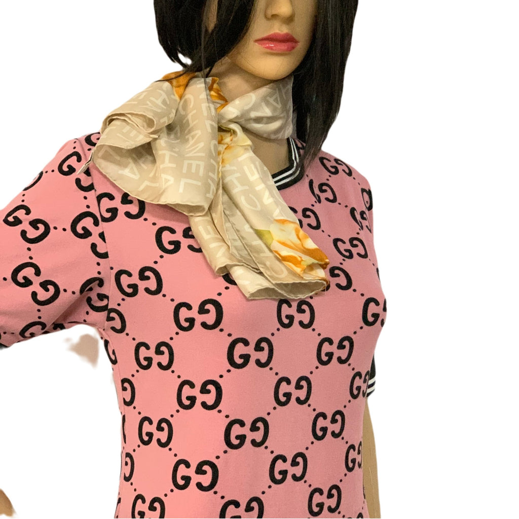 Chanel 100% Silk Scarf - Luxury Cheaper